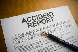 report the accident